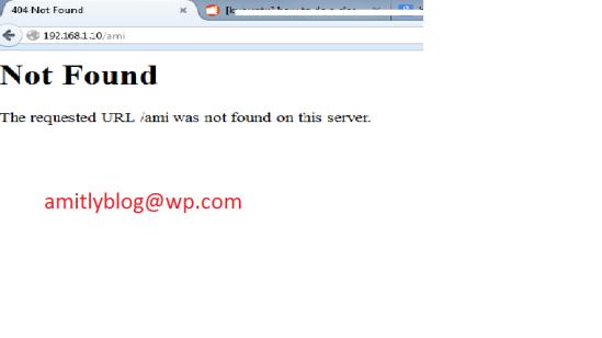 apache removed default error 404